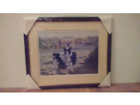 Steven Townsen, Border Collie Dog Art - Best Friends, Signed Limited Edition