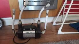 iflo single speed shower pump 1.5