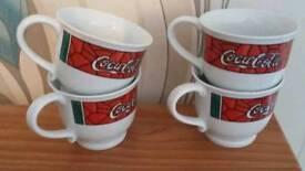 Coca cola tea cups (Set of 4)