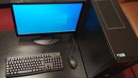 Gaming PC / Monitor / Intel Pentium GOLD G6400 4.0GHz (2020) / GTX 750 Ti / 2TB SSHD