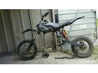 Pit bike for spares or repairs.