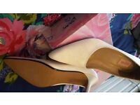 Ivory wedding shoes Brand New