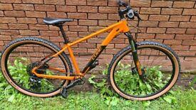 "2021 Cube Acid 29er Hardtail Mountain Bike Orange And Black MEDIUM 17"""
