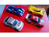 Hornby scalextic cars