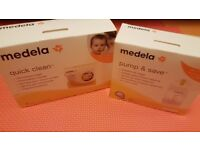 Medela Quick Clean microwave bags - NEW - 5 bags (100 cleanings). Perfect for travel and home use