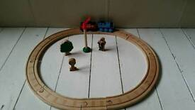 Wooden thomas train track