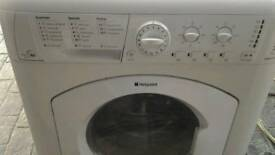 Hotpoint washing machine as new
