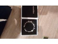 Genuine Pandora bracelet + 17 charms
