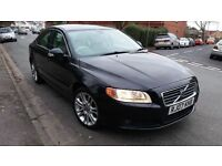 2007(07)VOLVO S80 D5 SE BLACK,CREAM LEATHER,SERVICE HISTORY,NEW SHAPE,NEW MOT,GREAT VALUE!
