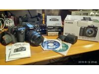 Canon EOS 70D DSLR + EF-S 18-135 mm f/3.5-5.6 IS STM Lens + Canon EF-S 24 mm f/2.8 STM