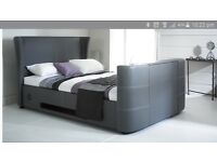 The curve i audio tv media bluetooth double bed