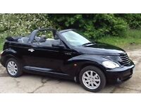 2007 2.4L Chrysler PT Cruiser Convertible Soft Top 12mths MOT No Advisories