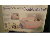 summer grow with me double bedrail pink for kid childs bed