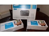 New Samsung Laser printer (Demo use only) cartridge + two spare ones also, Bargain, only £55 the lot