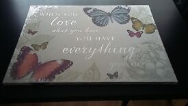 Butterflies Canvas