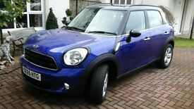 M2015 Mini Cooper 1.6 Countryman with low mileage. One lady driver