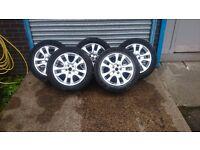 "Land Rover Freelander 17"" Alloy Wheels £100"