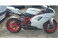 Ducati 848 evo under 2000 miles from new