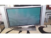 Hitachi 42 inch tv with no hdmi anly scart lead