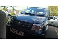 Fiat panda with hardwired dash cam and sat nav