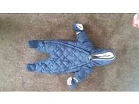 All in one snowsuit