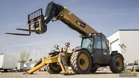 2013 Caterpillar FORKLIFT TELESCOPIC TL1055C