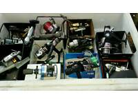Various fishing reels for sale