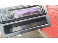 Car stereo with USB port