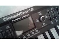 Deepmind 12 - 12 Voice Poly Synth with FX. Boxed With Printed Manual