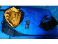 RAB SUMMIT 1000 DOWN SLEEPING BAG -25C MOUNTAIN EQUIPMENT HARDWEAR MSR ALPKIT ❄🗻⛺