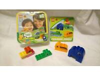 Duplo read and build jungle set