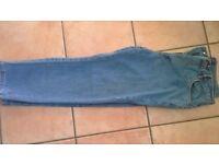 Union blues mens unworn jeans 32 w, short