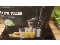 New Fruit/Veg Slow Juicer Machine Kitchen Appliance Health Shakes/Drinks Gym Blender