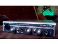 M Audio firewire solo interface