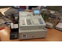 SHARP XE-A307 CASH REGISTER / POS TERMINAL 18MONTHS OLD WITH MANUAL