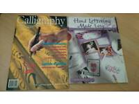 Autumn/Winter Activity 2 X Calligraphy & Hand Writing Books