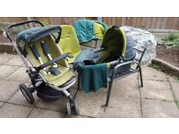 Quinny Buzz Green in very good condition £135