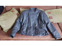 Spada Leather Motorcycle Jacket