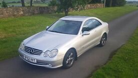 Mercedes CLK320 Semi-Auto ((1 YEAR MOT))