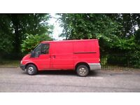 2005 Ford Transit needing welding work for MOT