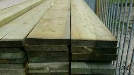 Unbanded Tanalised Scaffold Boards (225mm x 38mm) 3.9 mtr Lengths
