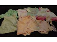 Cute bundle of baby girl clothes, 0-3 months