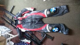 RST pro series leathers one piece
