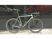 Litespeed T2 Titanium road bike. Dura Ace, Clavicula, carbon wheels