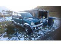 Terios 4x4 off roader,tractor tyres etc £350 ono/swap