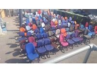 FREE TO COLLECTOR - Swivel Chairs - 100 Available - Take 1 or 100