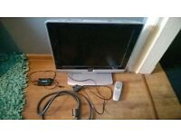 Philips 20HF5474/10 TV with scaler converter