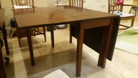 Stunning large antique dining table