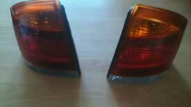 Vauxhall vectra c rear lights pair