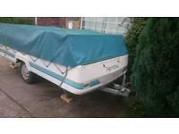 Pennine Fiesta Folding caravan